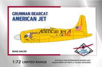 "High Planes Grumman Bearcat Racer ""American Jet"""