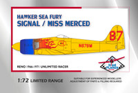 High Planes Racer Hawker Sea Fury Signal Miss Merced