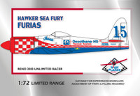 "High Planes Hawker Sea Fury Racer ""Furias"" Reno 2000"