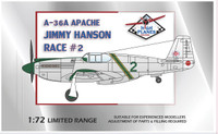 "High Planes North American P-51A Racer ""Race 2"" James Hannon's 1949 Cleveland Racer Kit 1:72"