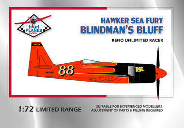 High Planes Hawker Sea Fury Blindman's Bluff Reno racer