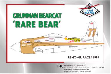 High Planes Racer Bearcat Rare Bear 1995