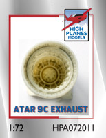 High Planes Dassault Mirage IIIE O Atar 9C exhaust pipe Accessories 1:72