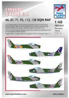 High Planes Canadair Sabre F4