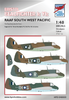 High Planes Bristol Beaufighter Ic/VIc RAAF Decals 1:48 (HPD048003)