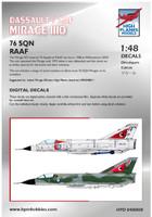 High Planes Dassault Mirage IIIO RAAF 76 Squadron PT 1 Decals 1:48