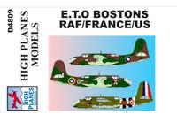High Planes Douglas Boston