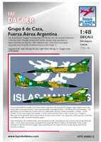 High Planes IAI Dagger Falkands Malvinas