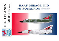 High Planes Dassault Mirage IIIO RAAF 76 Sqn Decals 1:32