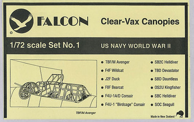 Falcon Clearvax Set 1