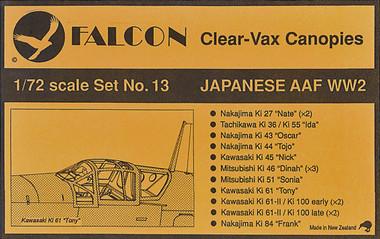 Falcon Clearvax Set 13
