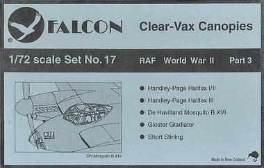 Falcon Clearvax Set 17