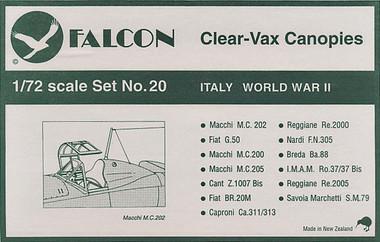 Falcon Clearvax Set 20