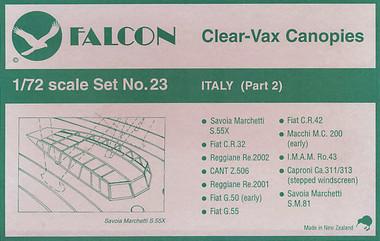 Falcon Clearvax Set 23