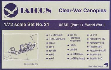 Falcon Clearvax Set 24