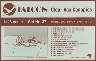 Falcon Clearvax Set 37