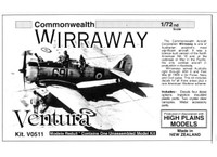 High Planes Models CAC Wirraway Post War