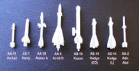 OzMods Scale Models FAB-500 500kg Bombs pack of 4 Accessories 1:144