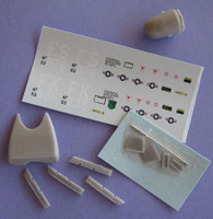 OzMods Scale Models B-57G conversion for OMK14408 decals Accessories 1:144