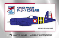 Chance Vought F4U-7 Corsair High Planes Aeronavale Suez