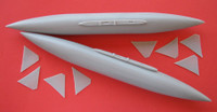 OzMods-Scaledown F-111G/FB-111A long-range fuel tanks Accessories 1:48