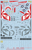FCM 72 042 F-14A Tomcat - VF-111 Sundowners (part 2) decals