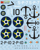 FCM decals PBY Catalina Argentina Brazil