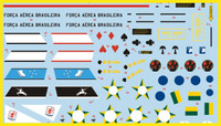 FCM AT-26 Xavante EMB-326, Brazil Decals 1:48