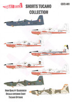 Combat Decals Shorts Tucano CD72-001