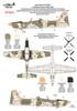 Combat Decals Shorts Tucano CD72-001