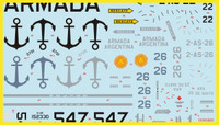 FCM Latin American S-2A Tracker Pt 3Decals 1:48