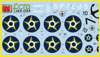 FCM Set 34: Consolidated PBY Catalina - Brazil 2, Argentina Decals 1:144