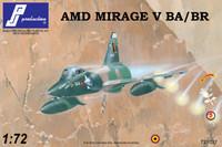 PJ Productions Dassault Mirage V BA/BR