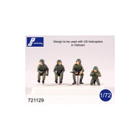 PJ Productions Helicopter crew Vietnam war Figures 1:72
