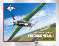 "High Planes P-51A Mustang ""Precious Metal II"" Racer Kit 1:48"