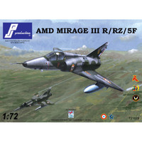 PJ Productions Dassault Mirage IIIR/RZ/5F Kit 1:72