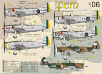 FCM Republic P-47D Thunderbolt - part 1 Decals 1:32
