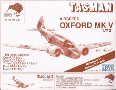 Tasman Airspeed Oxford Mk.V Kit 1:72