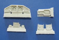 Red Roo Models Sabre Wheel Wells Accessories 1:72