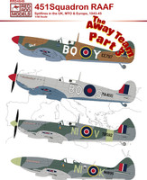 Red Roo Decals RAAF 451 Sqn Spitfire