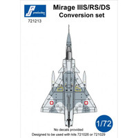 PJ Productions Mirage IIIS/RS/DS Conversion Kit Accessories 1:72