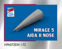 High Planes Dassault Mirage 5 Aida II Nose Accessories 1:72