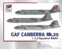 High Planes GAF Canberra B20 RAAF Kit 1:72