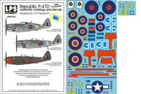 "LPS Hobby Republic P-47D ""British Thunderbolts"" 1/72"