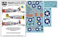 "LPS Hobby Republic P-47D ""36th & 48th FG Thunderbolts"" 1/72"