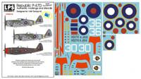 "LPS Hobby Republic P-47D ""British Thunderbolts"" 1/48"