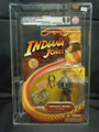 INDIANA JONES: LAST CRUSADE 2008 Hasbro Figure AFA GRADED 9.0 NM+/MT UNCIRCULATED