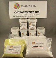 Earth Palette Cotton and Linen Dyeing Kit - Cold Water Dyes