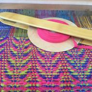 Poppana bias yarn
