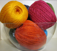 4 ply Perle Cotton